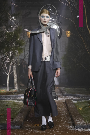 Thom Browne Fashion Show, Ready To Wear  Collection Fall Winter 2016 in New York
