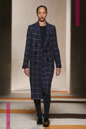 Victoria Beckham Fashion Show, Ready To Wear  Collection Fall Winter 2016 in New York