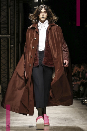 Andreas Kronthaler for Vivienne Westwood, Fashion Show, Ready To Wear  Collection Fall Winter 2016 in Paris