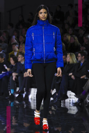 Courrèges Fashion Show, Ready To Wear Collection Fall Winter 2016 in Paris