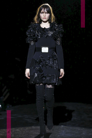 Emanuel Ungaro Fashion Show, Ready To Wear Collection Fall Winter 2016 in Paris