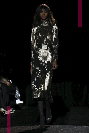 Emanuel Ungaro Fashion Show Ready To Wear Collection Fall Winter 2016 in Paris