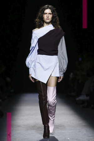 Jacquemus Fashion Show, Ready To Wear Collection Fall Winter 2016 in Paris