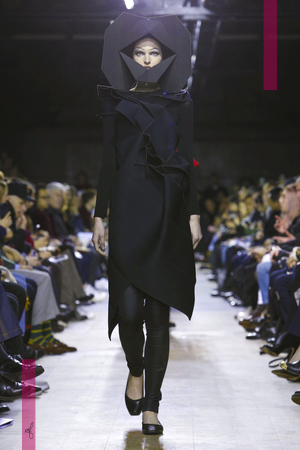 Junya Watanabe Fashion Show, Ready To Wear Collection Fall Winter 2016 in Paris