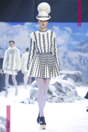 Moncler Gamme Rouge, Fashion Show, Ready To Wear Collection Fall Winter 2016 in Paris