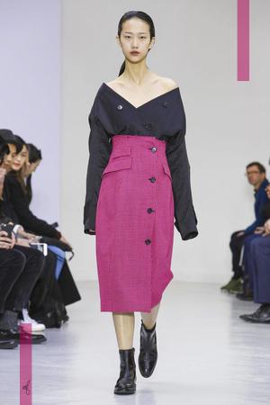 Yang Li Fashion Show, Ready To Wear Collection Fall Winter 2016 in Paris