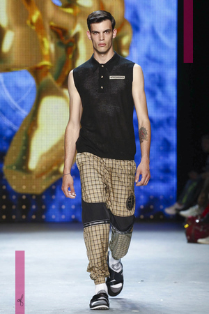 Astrid Andersen, Fashion Show, Menswear Collection Spring Summer 2017 in London