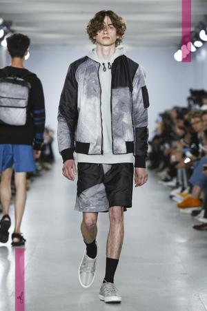 Christopher Raeburn  Fashion Show, Menswear Collection Spring Summer 2017 in London