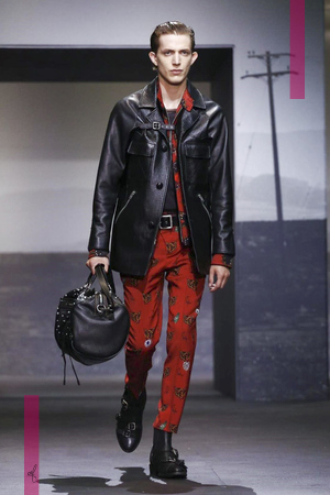 Coach Fashion Show, Menswear Collection Spring Summer 2017 in London