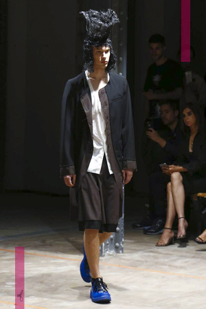 Comme des Garcons, Fashion Show, Menswear Collection Spring Summer 2017 in Paris