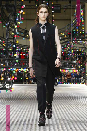 Dior Homme Spring Summer 2017 Collection Fashion show in Paris