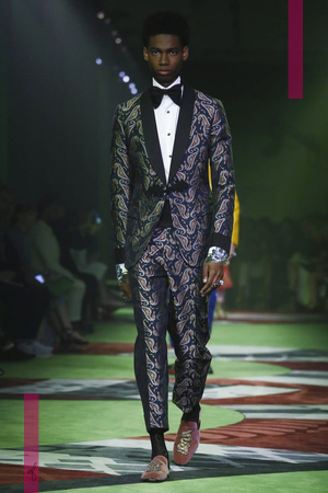 Gucci Menswear Spring Summer 2017 Collection in Milan