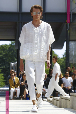 Issey Miyake, Fashion Show, Menswear Collection Spring Summer 2017 in Paris