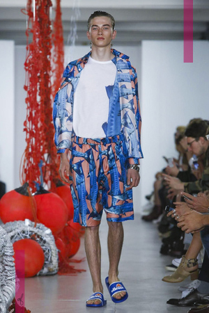 Katie Eary, Menswear Collection Spring Summer 2017 in London