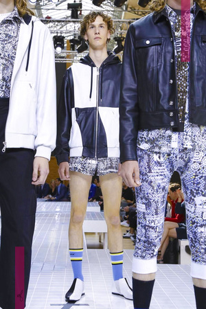 Kenzo-Fashion show, menswear collection spring summer 2017 in Paris