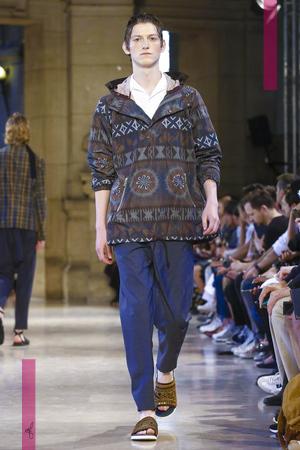 Kolor, Fashion Show, Menswear Collection Spring Summer 2017 in Paris