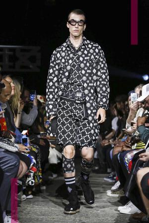 KTZ  Fashion Show, Menswear Collection Spring Summer 2017 in London