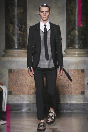 Les Hommes Fashion Show, Menswear Collection Spring Summer 2017 in Milan