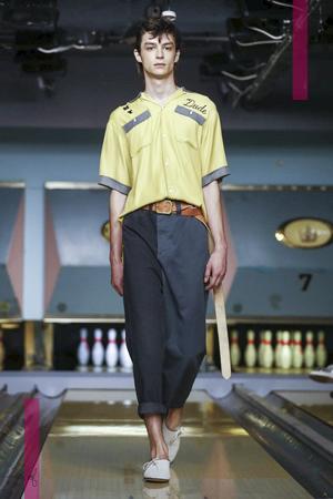 Maison Mihara Yasuhiro Fashion Show, Menswear Collection Spring Summer 2017 in London