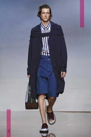 Marni Fashion Show, Menswear Collection Spring Summer 2017 in Milan