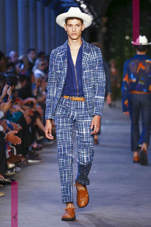 Missoni, Fashion Show, Mens Wear Collection Spring Summer 2017 in Milan