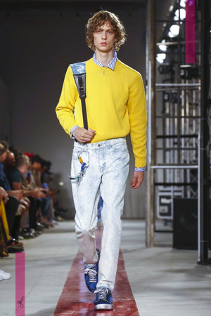 MSGM, Fashion Show, Menswear Collection Spring Summer 2017 in Milan