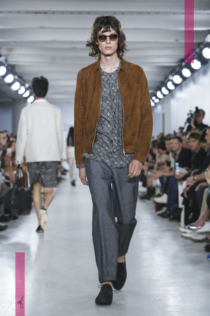 Oliver Spencer Fashion Show, Menswear Collection Spring Summer 2017 in London
