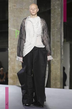 Rick Owens, Menswear Collection Spring Summer 2017 in Paris