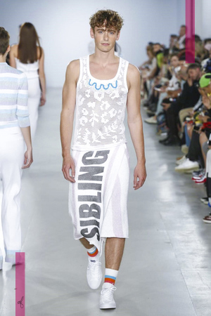 Sibling, Fashion Show, Menswear Collection Spring Summer 2017 in London