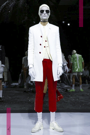 Thom Browne, Fashion Show, Menswear Collection Spring Summer 2017 in Paris