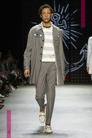 Topman Fashion Show, Menswear Collection Spring Summer 2017 in London