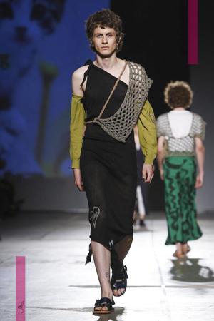 Vivienne Westwood Fashion Show, Menswear Collection Spring Summer 2017 in Milan