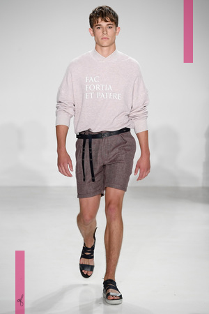 Cadet Menswear Spring Summer 2017 Collection in New York NYTCREDIT:  NOWFASHION