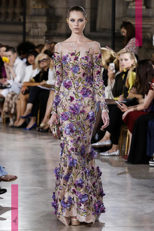 George Hobeika Couture Collection, Fall Winter 2016 Fashion Show in Paris