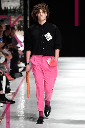 Robert Geller Menswear Spring Summer 2017 Collection in New York NYTCREDIT: NOWFASHION