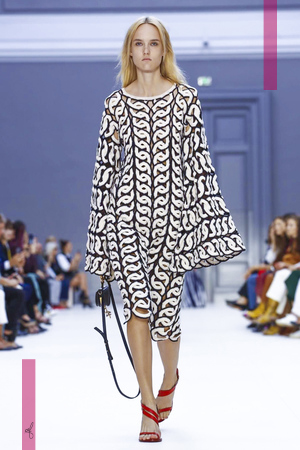 Chloe, Fashion Show, Ready to Wear Collection Spring Summer 2017 in Paris