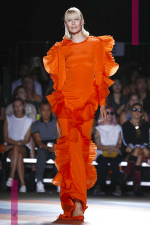 Christian Siriano Fashion Show, Ready to Wear Collection Spring Summer 2017 in New York