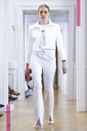 Courreges, Fashion Show, Ready to Wear Collection Spring Summer 2017 in Paris