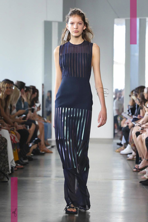 Dion Lee Fashion Show, Ready to Wear Collection Spring Summer 2017 in New York
