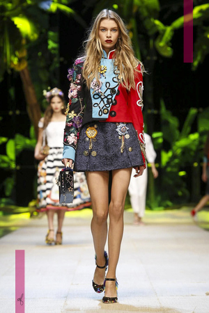 Dolce and Gabbana Ready to Wear Collection, Spring Summer 2017 Fashion Show in Milan