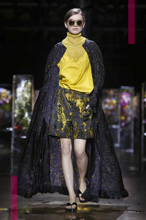 Dries Van Noten Fashion Show, Ready to Wear Collection Spring Summer 2017 in Paris