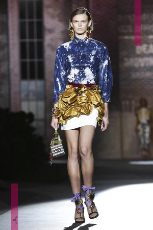 Dsquared2 Ready to Wear Collection, Summer Spring 2017 Fashion Show in Milan