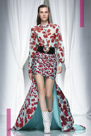 Emanuel Ungaro, Women Fashion Show, Ready to Wear Collection Spring Summer 2017 in Paris