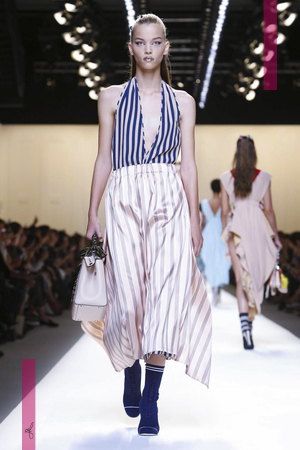 Fendi Fashion Show, Ready to Wear Collection Spring Summer 2017 in Milan