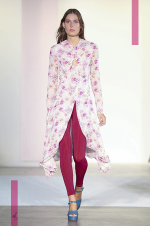 Jill Stuart Fashion Show, Ready to Wear Collection Spring Summer 2017 in New York