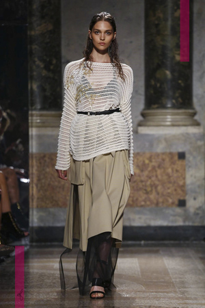 Les Copains Fashion Show, Ready to Wear Collection Spring Summer 2017 in Milan