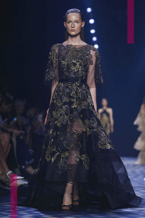 Marchesa Fashion Show, Ready to Wear Collection Spring Summer 2017 in New York
