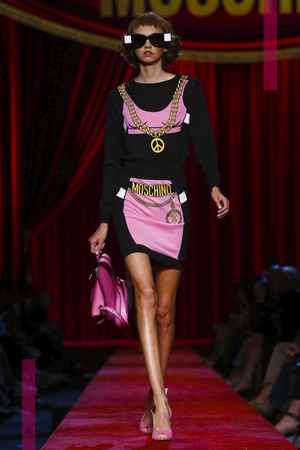 Moschino, Fashion Show, Ready to Wear Collection Spring Summer 2017 in Milan