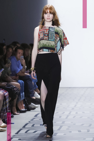 Nicole Miller Fashion Show, Ready to Wear Collection Spring Summer 2017 in New York