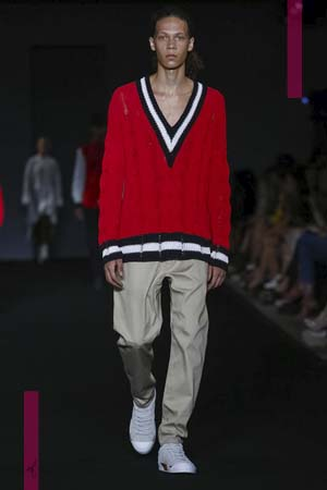 Rag & Bone Fashion Show, Ready to Wear Collection Spring Summer 2017 in New York